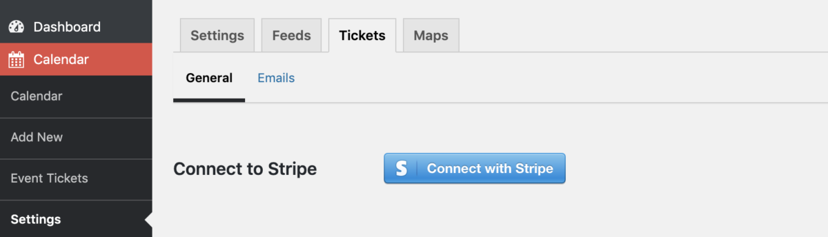 Connect with Stripe